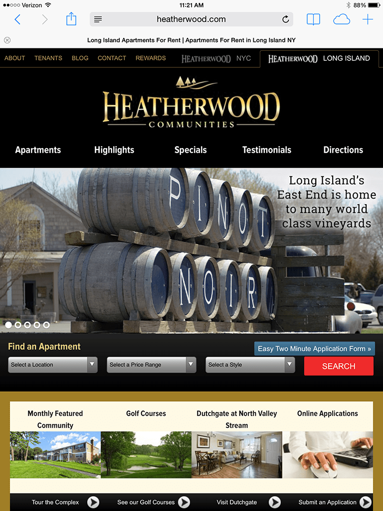 Heatherwood - Tablet
